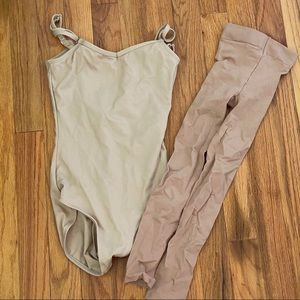 Capezio Tan Leo & Tights